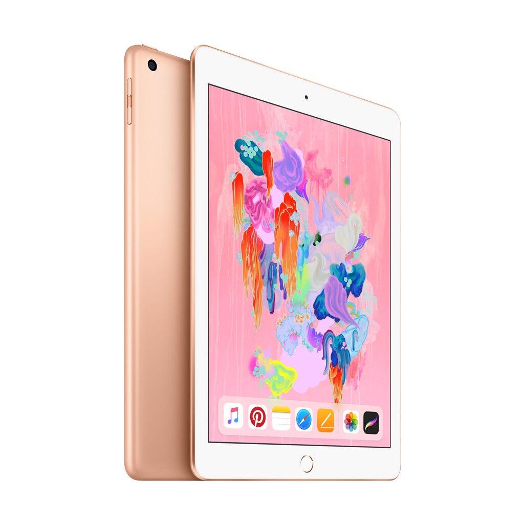 Apple iPad (2018) 128 Go Wi-Fi + 4G Or