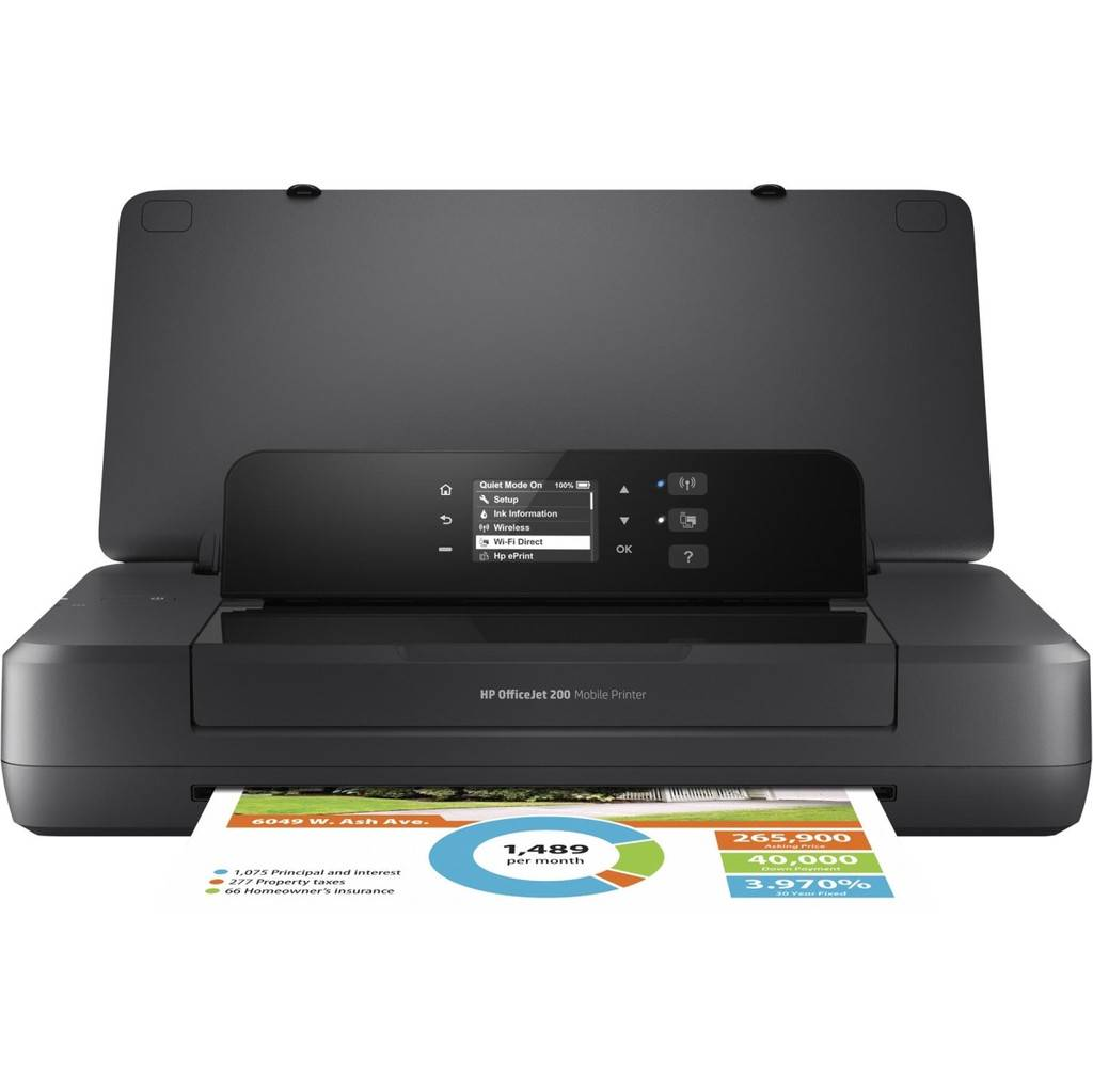 HP OfficeJet 200 imprimante portable (CZ993A)