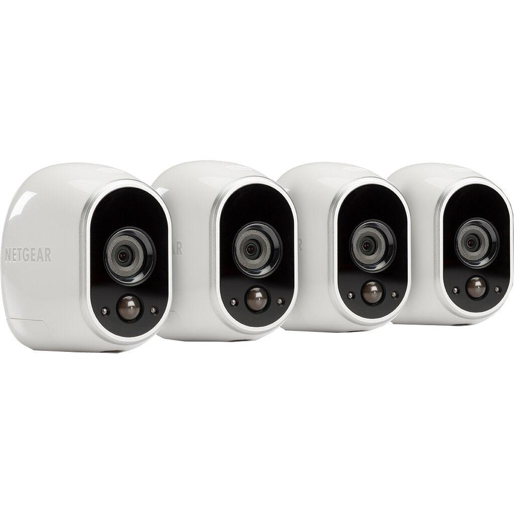 Arlo by Netgear Smart Home Caméra HD Lot de 4
