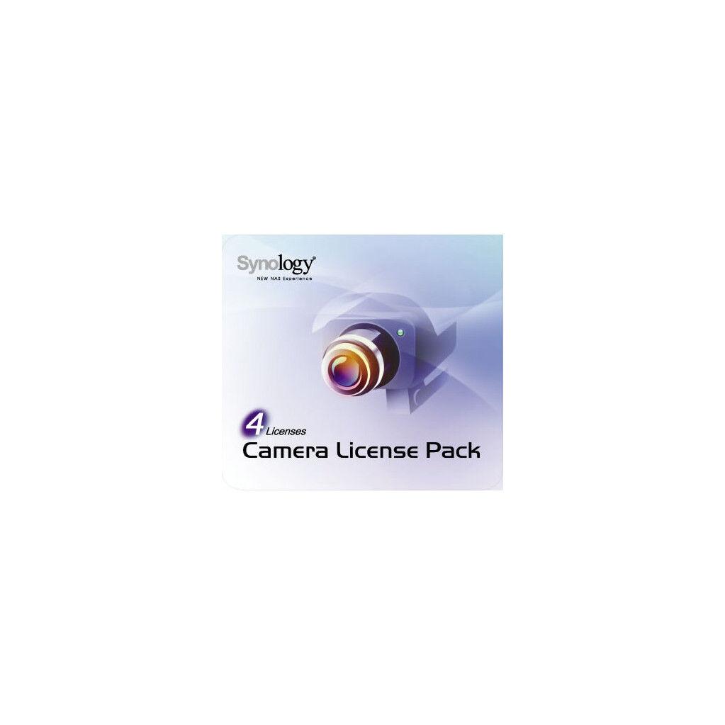 Synology Licences pour Caméra 4 Pack