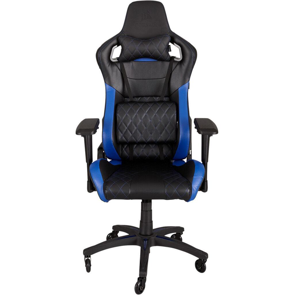 Corsair T1 Race Fauteuil de Gaming Noir/Bleu