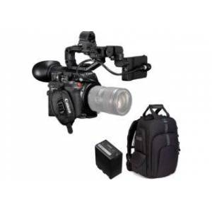 CANON kit caméscope 4K EOS C200 + carte CFAST 128 GB + batterie CAN...