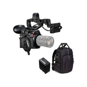 CANON kit caméscope 4K EOS C200 + carte CFAST 128 GB + batterie CAN...
