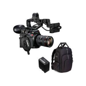 CANON kit caméscope 4K EOS C200 + objectif 24-105 mm f/4 L IS II + ...