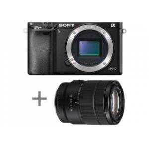 SONY ALPHA 6000 noir + 18-135 objectif photo compact hybride