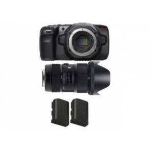 BLACKMAGIC DESIGN Blackmagic Pack Pocket Cinema Camera 6K + 2 accessoires