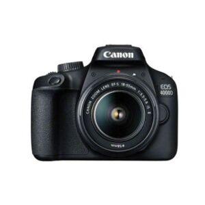 CANON 4000D + EF-S 18-55 mm III reflex numérique