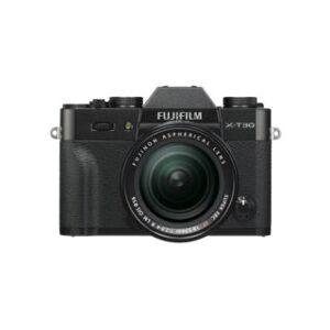 Fujifilm kit hybride X-T30 noir + XF 18-55 mm objectif photo