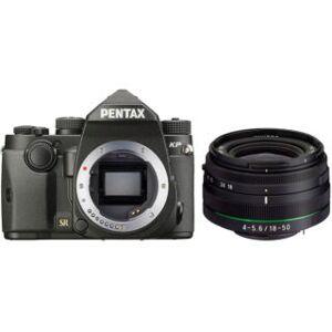 PENTAX KP noir + DA18-50 RE noir reflex numérique