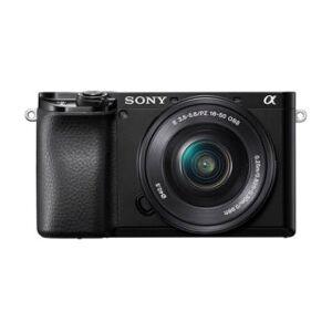 Sony A6100 noir + 16-50 mm