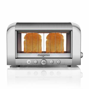Magimix 11526 2-Slice Vision Toaster -Brushed Steel
