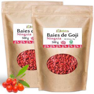 123gelules Baies de Goji GreenFood - 1 kg