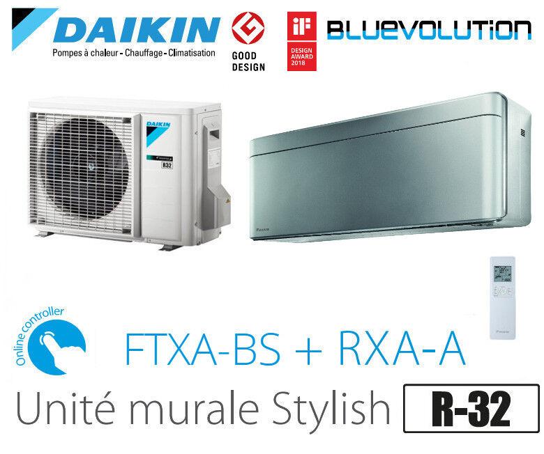 Daikin Stylish modèle FTXA50BS - R-32 - WIFI inclus