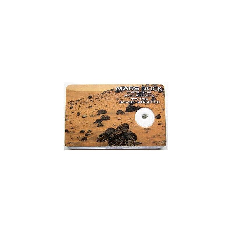 Sonstige Météorite de Mars NWA 6963 Authentique
