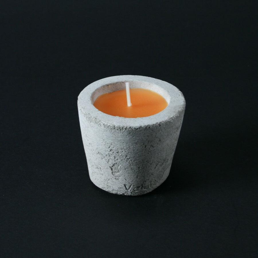 Volute Pot bougie orange à la mandarine 7cm - Lot de 2 - Pot - Volute