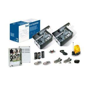 CAME Motorisation Portail enterrée CAME U1990 FROG 24V Kit + 2 télécommandes!