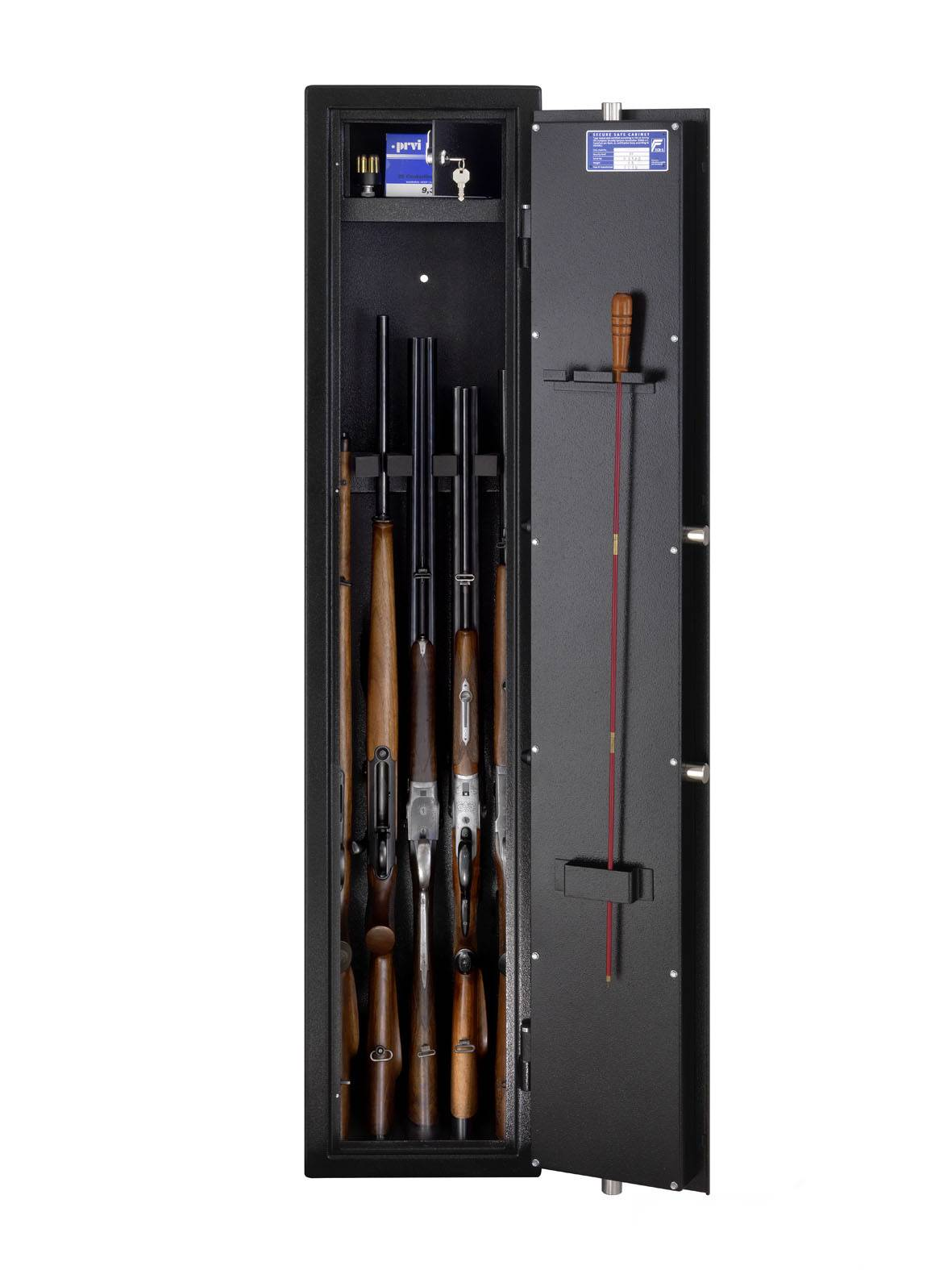 BURGWÄCHTER Armoire à fusils BURG-WÄCHTER - RANGER R S1 / 7 S - Serrure électronique + module biométrique