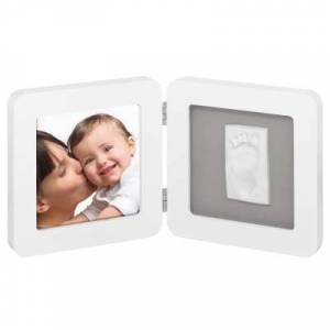 Cadre photo empreinte Modern Print Frame blanc