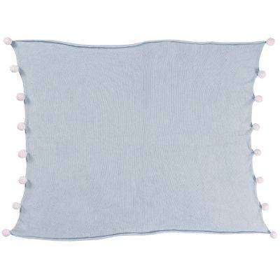 Couverture bébé Bubbly Soft bleue (100 x 120 cm)