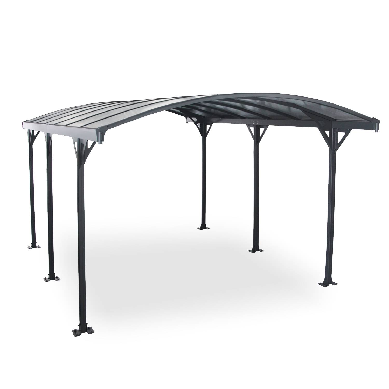Abri de voiture, carport en aluminium 5,8 x 3 m Avera 5m