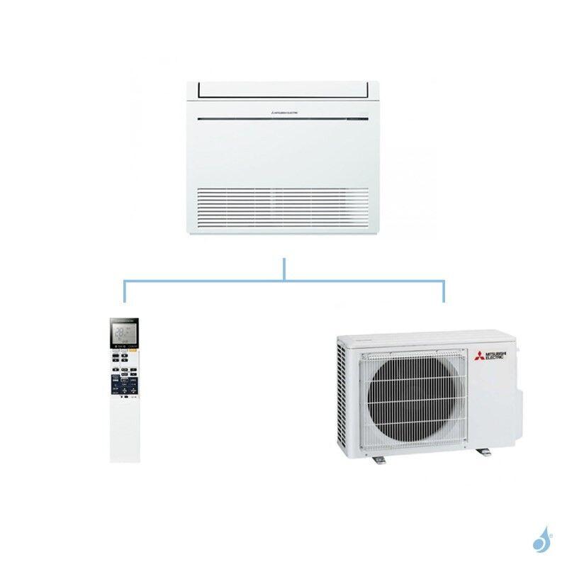 Mitsubishi Electric MITSUBISHI climatisation mono split gaz R410A console de luxe MFZ-KJ 2,5kW MFZ-KJ25VE + MUFZ-KJ25VE A+++