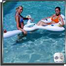 Bar flottant porte-boissons pour piscine
