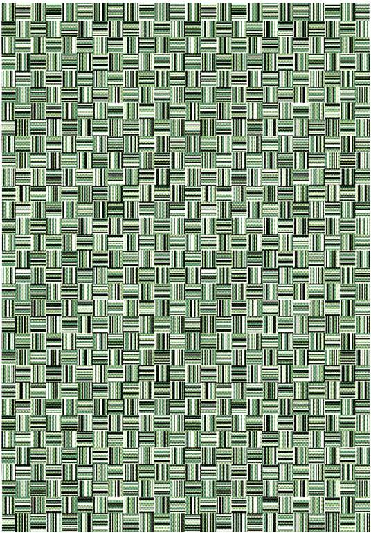 Tapis de jardin - Broc Arty - Tissage vert - 80 x 150 cm
