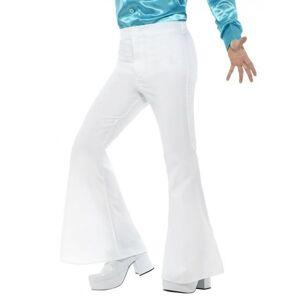 Deguisetoi Pantalon disco blanc homme - Taille: M