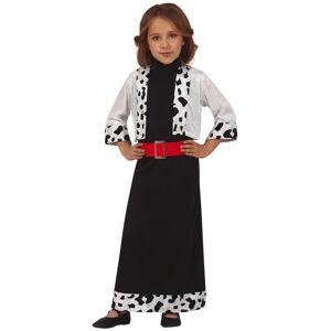 Deguisetoi Déguisement Miss dalmatien fille - Taille: 7 à 9 ans (125-135 cm)