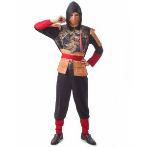 Deguisetoi Déguisement ninja traditionnel homme - Taille: M