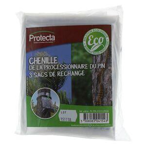 PROTECTA Sachet 3 sacs pour piège chenille processionnaire