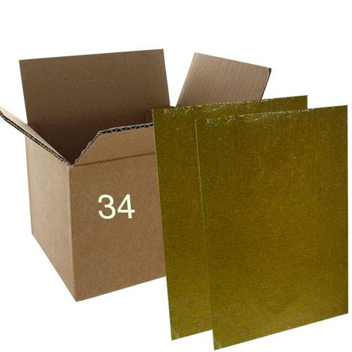 PROTECTA Plaques à glu rats - souris Professionnels - Carton de 34 pièces