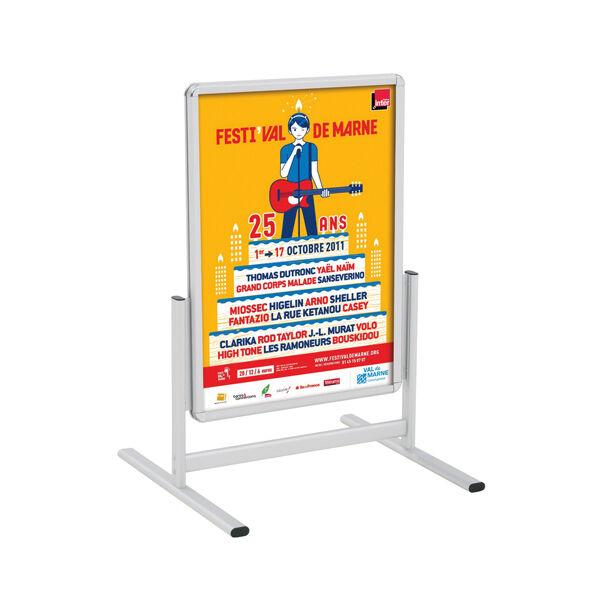 Edimeta Stop-trottoir vertical Cadro-Clic® A1 / 80 x 60 cm