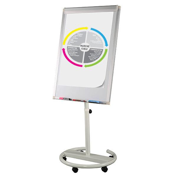 Edimeta Chevalet Paperboard Mobile Pied Circulaire