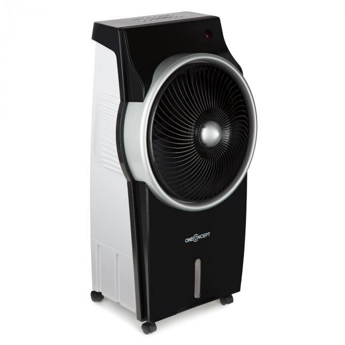 OneConcept Kingcool Rafraichisseur d' air ventilateur ioniseur noir & argent