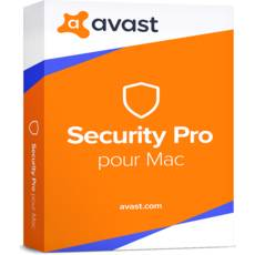 Avast Security Pro for Mac - 3 postes - 2 ans