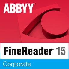 Abbyy FineReader 15 Corporate - Mise à jour - 1 utilisateur