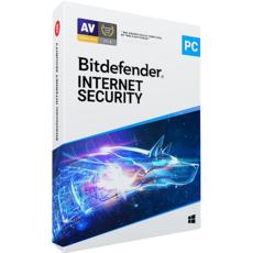 Bitdefender Internet Security 2020 - 3 PC - Abonnement 2 ans