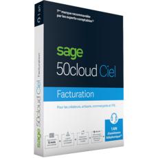 Sage KHK SAGE 50cloud Ciel Premium - Formule Serenity - Gestion commerciale - 1 utilisateur - 10 SIRET - Abonnement 1 an