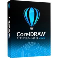 CorelDRAW Technical Suite 2020 - Business - 1 utilisateur + Maintenance 1 an