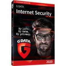 G Data Software GmbH G DATA Internet Security 2020 - 2 postes - Abonnement 3 ans