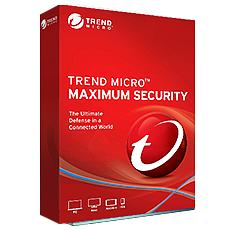 Trend Micro Maximum Security - 1 poste - Abonnement 2 ans