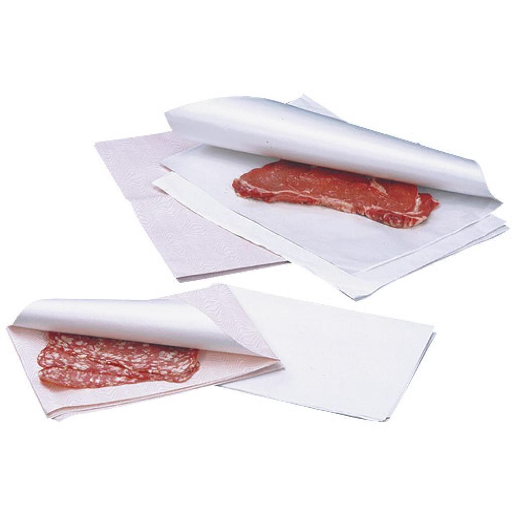 Firplast Papier ingraissable blanc en format 25x32 cm x 1 Firplast