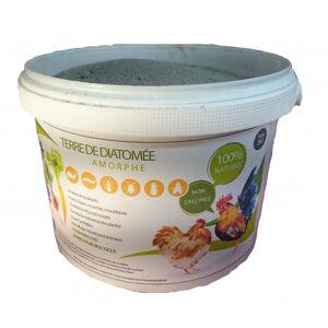 Jardin et Saisons Terre de diatomée non calcinée grise seau 2 kg