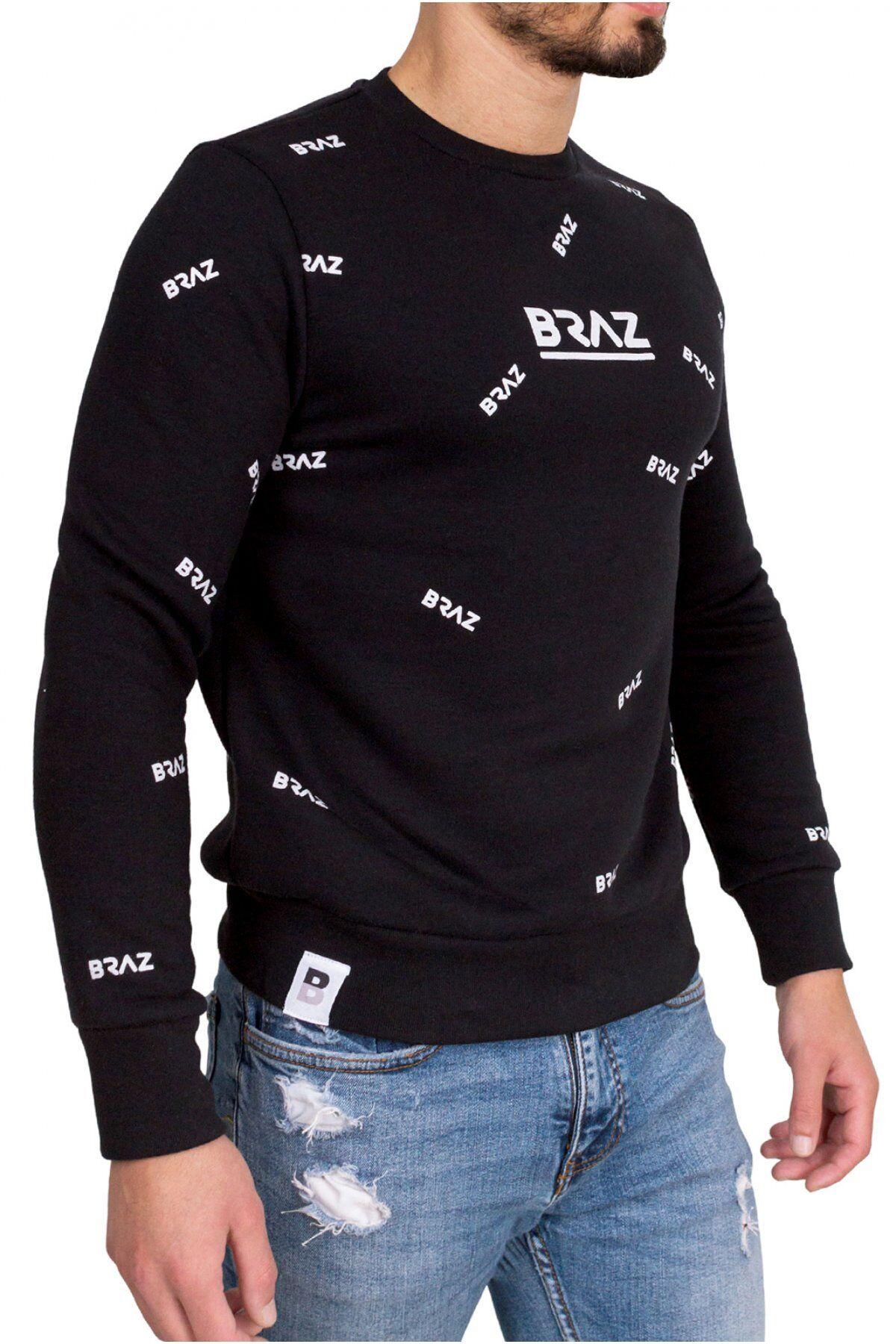Braz Pull Coton Logo 120971tsh  -  Braz