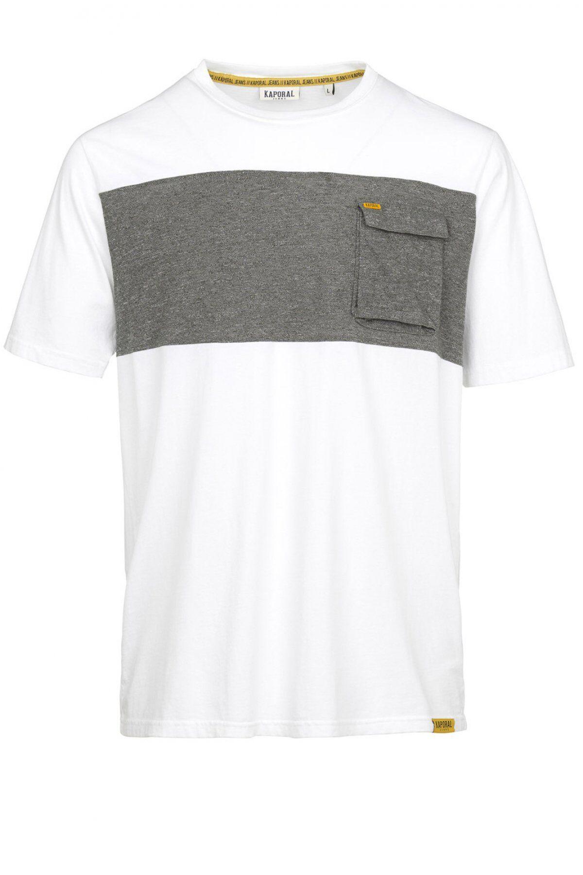 Kaporal Tee Shirt Coton Bicolore  -  Kaporal