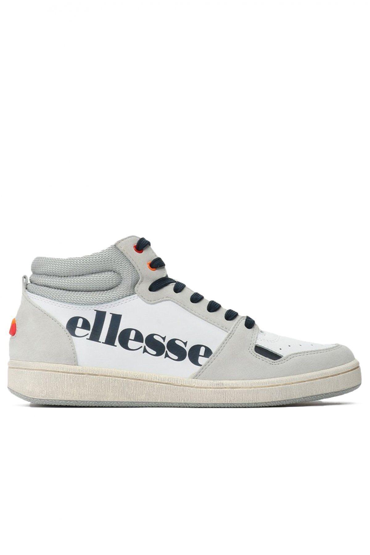 Ellesse Sneakers Cuir Montantes Bicolores  -  Ellesse