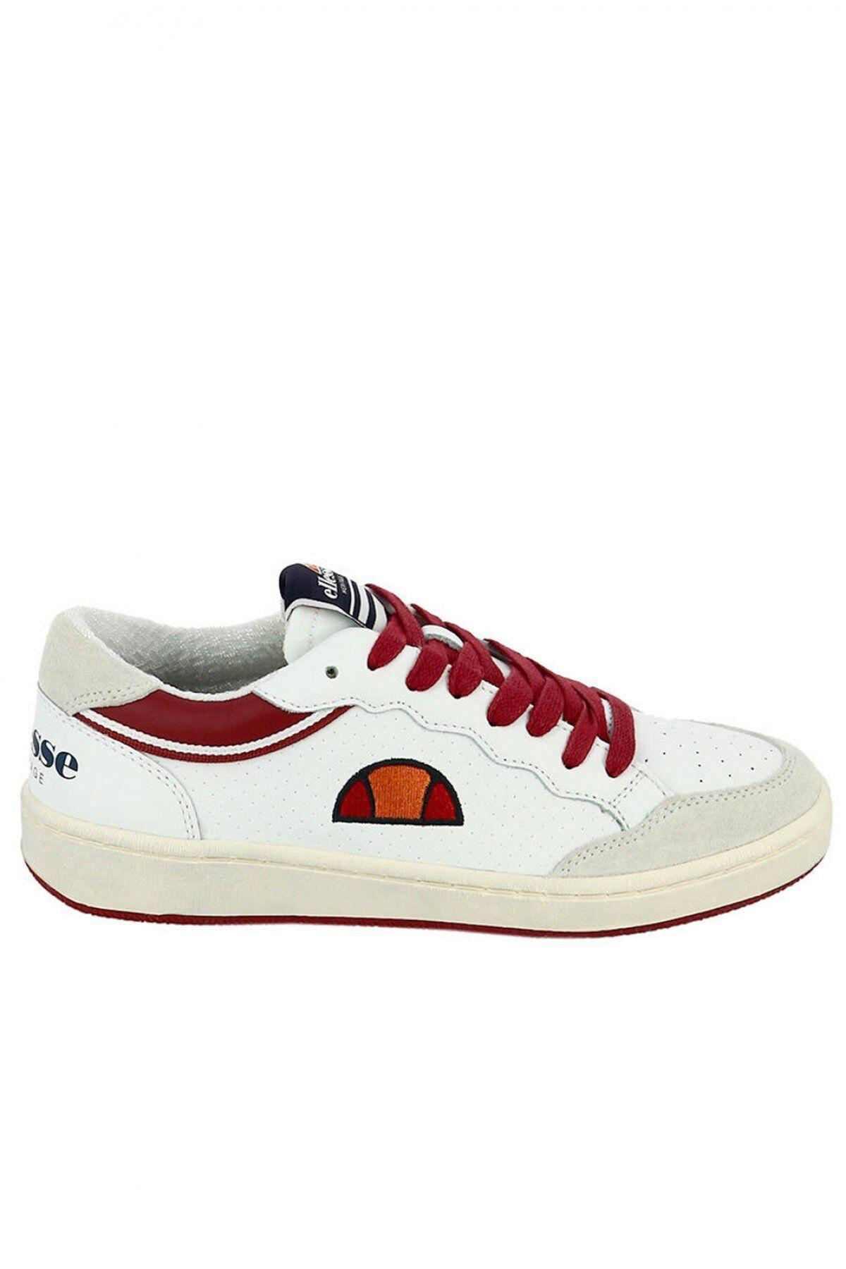 Ellesse Sneakers Cuir Bicolores Logo Brodé  -  Ellesse