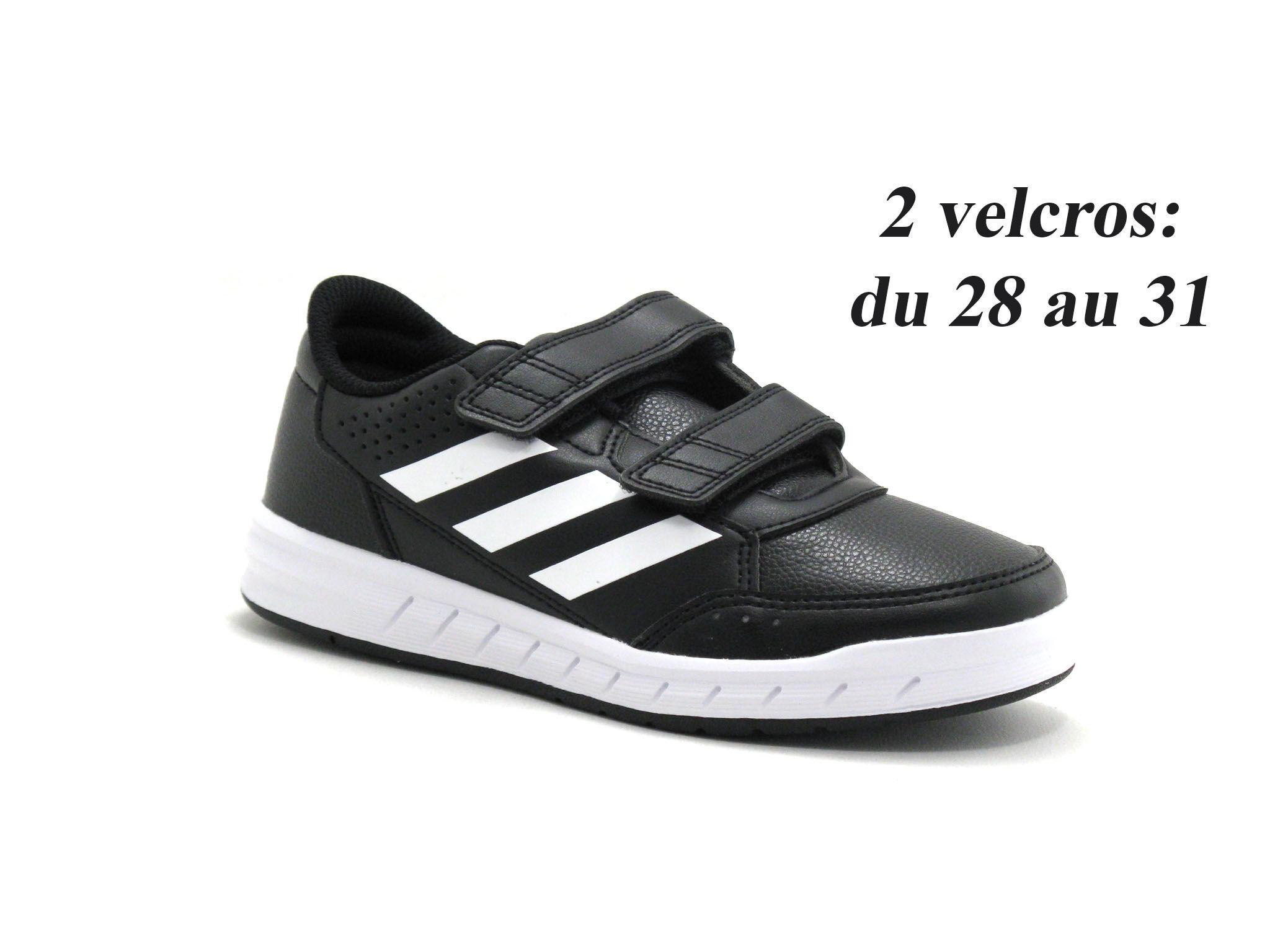 Adidas Basket Enfant Adidas - Noir - Point. 28,29,30,31,32,33,34,35