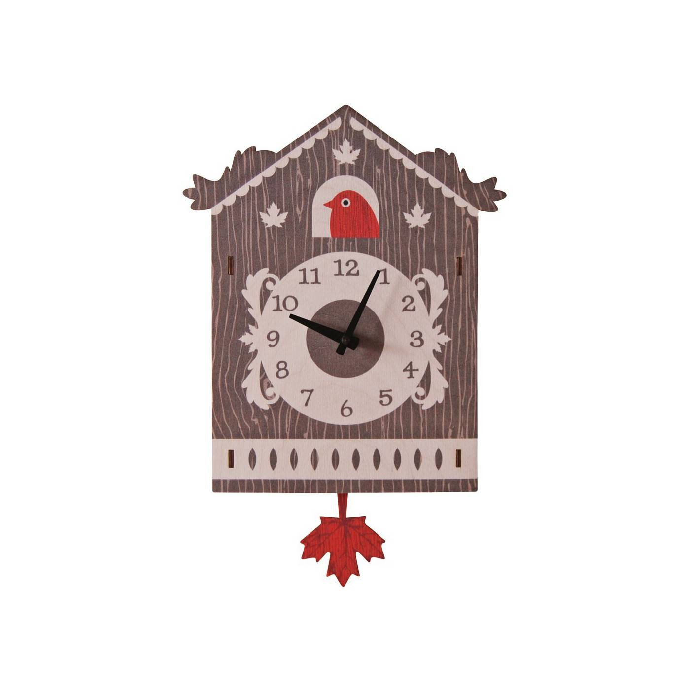 Modern Moose Horloge Murale à Balancier Coucou Suisse pour Enfants Modern Moose